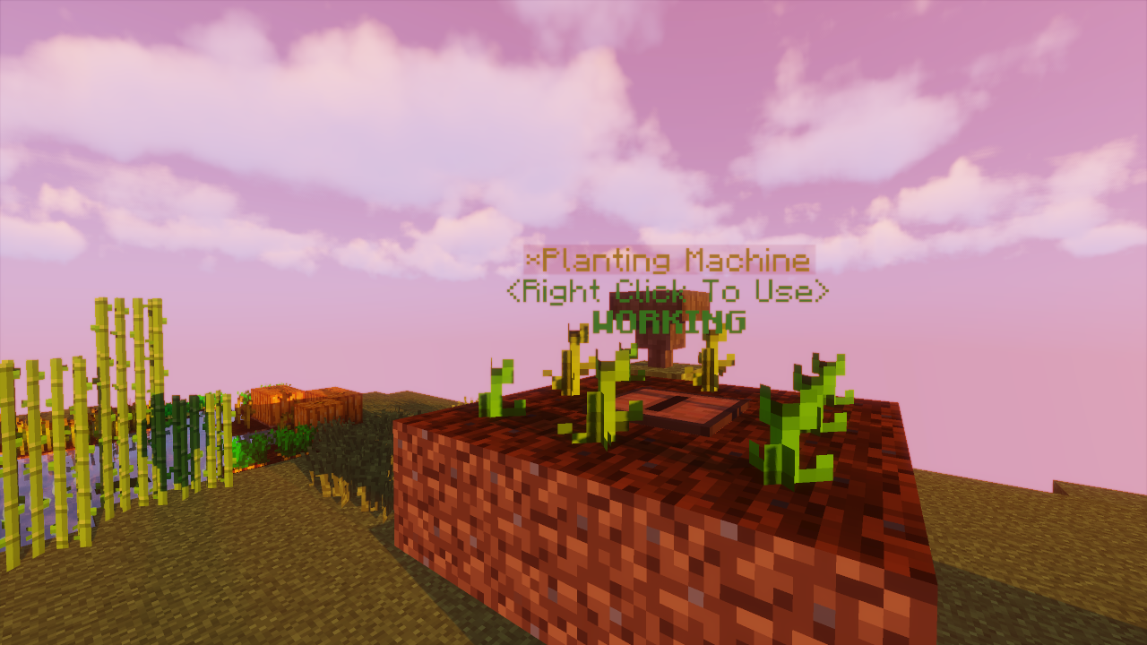 Skyblock: The Planting Machine